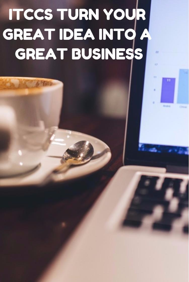 ITCCS TURN YOUR GREAT IDEA INTO A GREAT BUSINESS